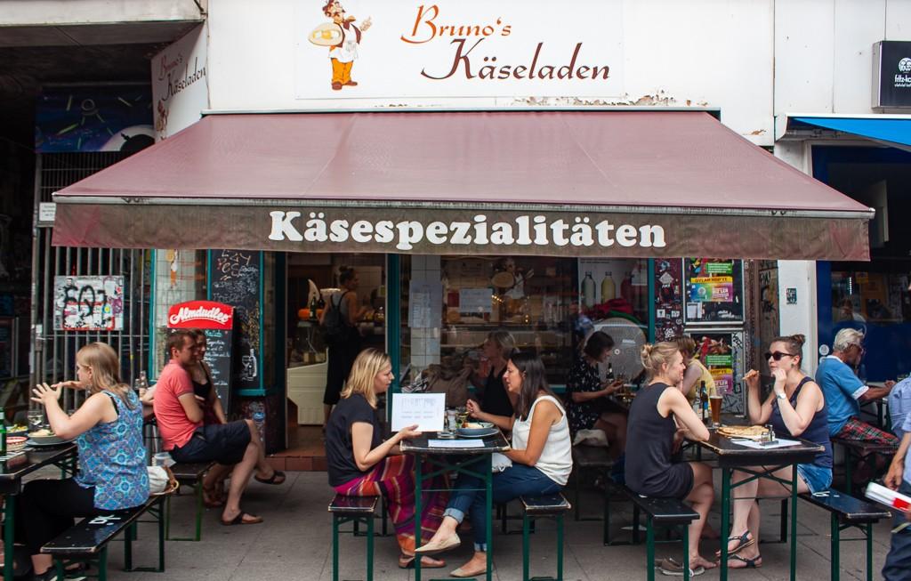 Hamburg Schanzenviertel - Brunos Käseladen
