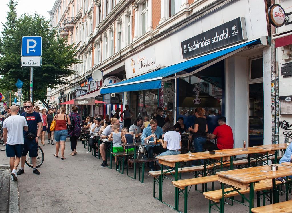 Hamburg Schanzenviertel - Gaststätte Fisch Imbiss