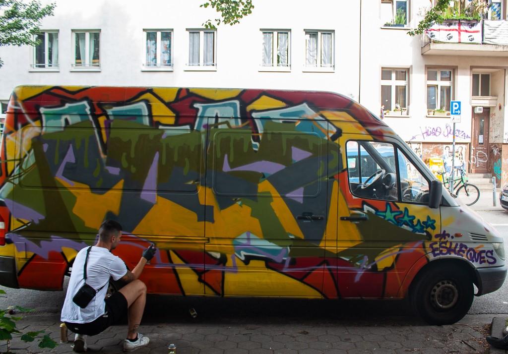 Hamburg Schanzenviertel - Street Art Van