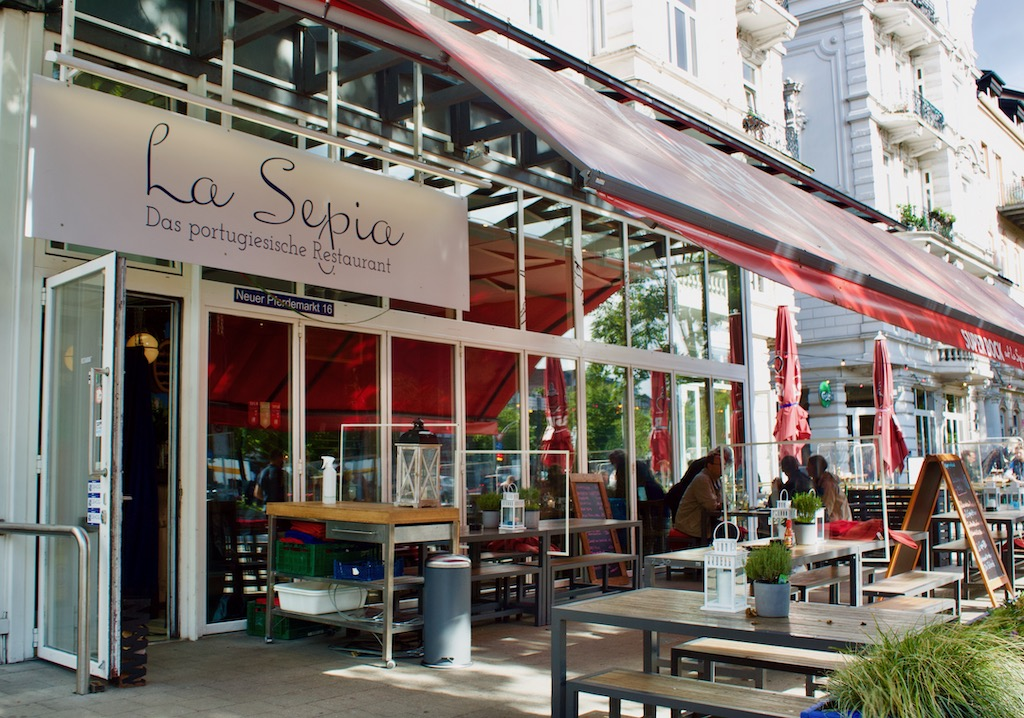 La Seppia Hamburg Germany Seafood Restaurant