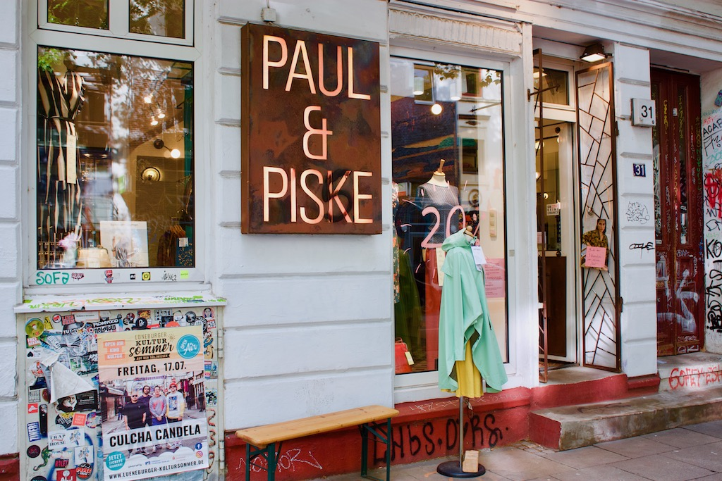 Paul & Piske Shop Hamburg