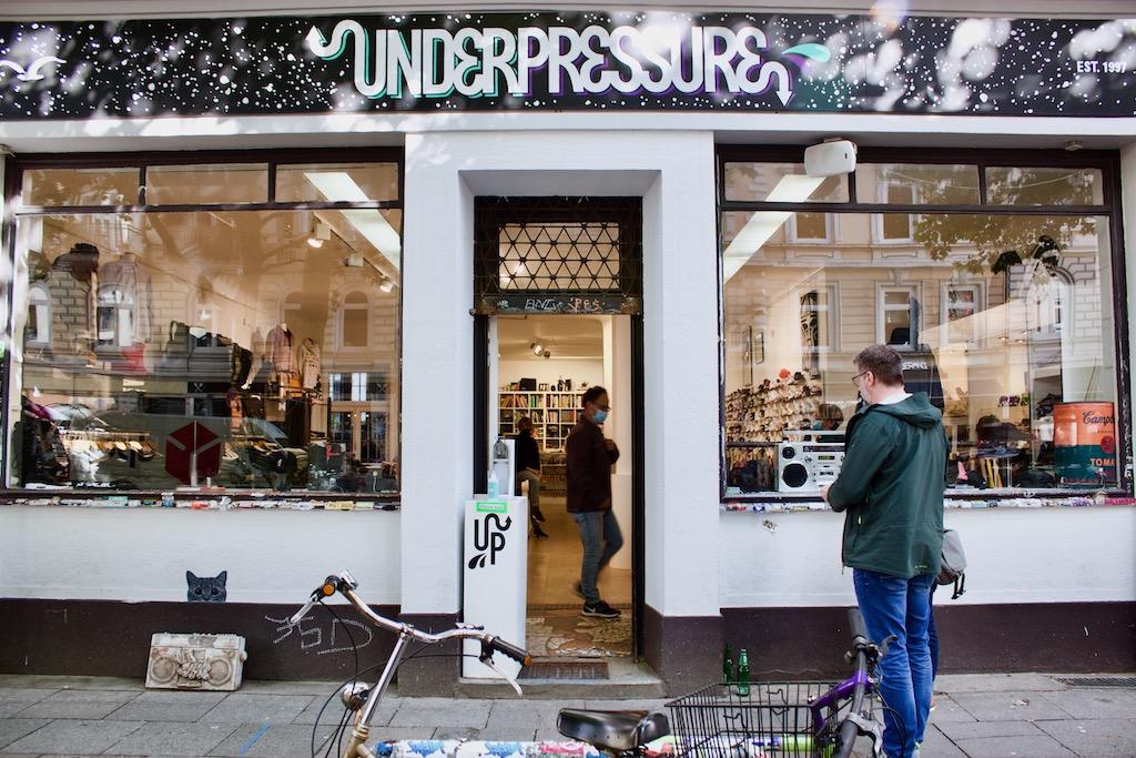 Underpressure Hip Hop Store Hamburg