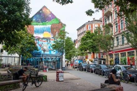 Hamburg Schanzenviertel - Street Art Mural