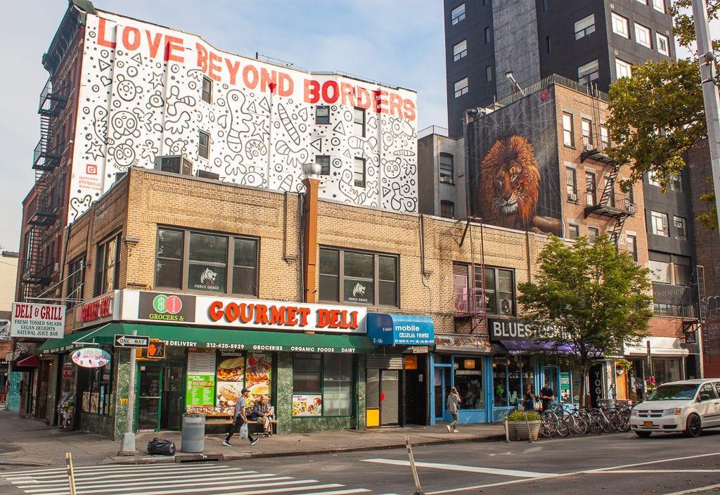 New York City Street Art - Love Beyond Borders Nicopanda