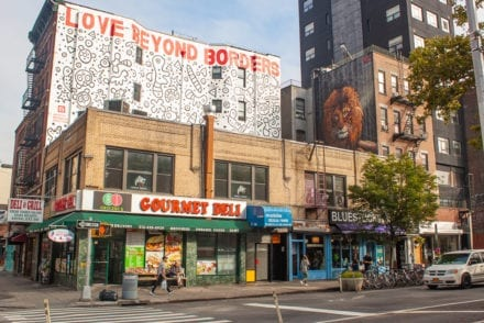 New York City Street Art - Love Beyond Borders Nicopanda