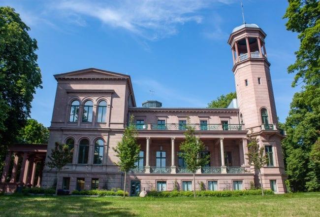 Schlosspark Biesdorf Berlin - Front View
