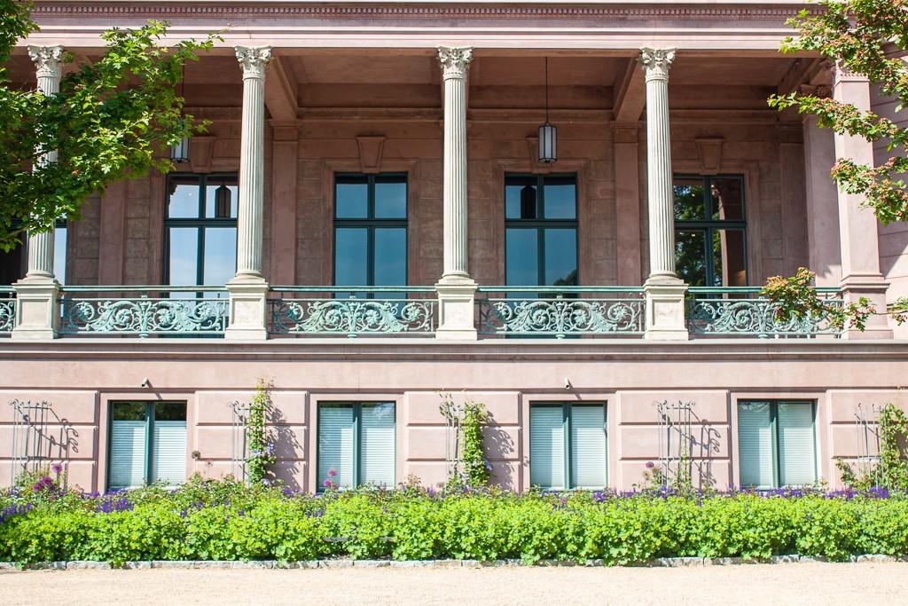 Schlosspark Biesdorf Berlin - Terrace