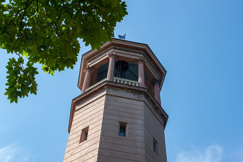 Schlosspark Biesdorf Berlin - Tower