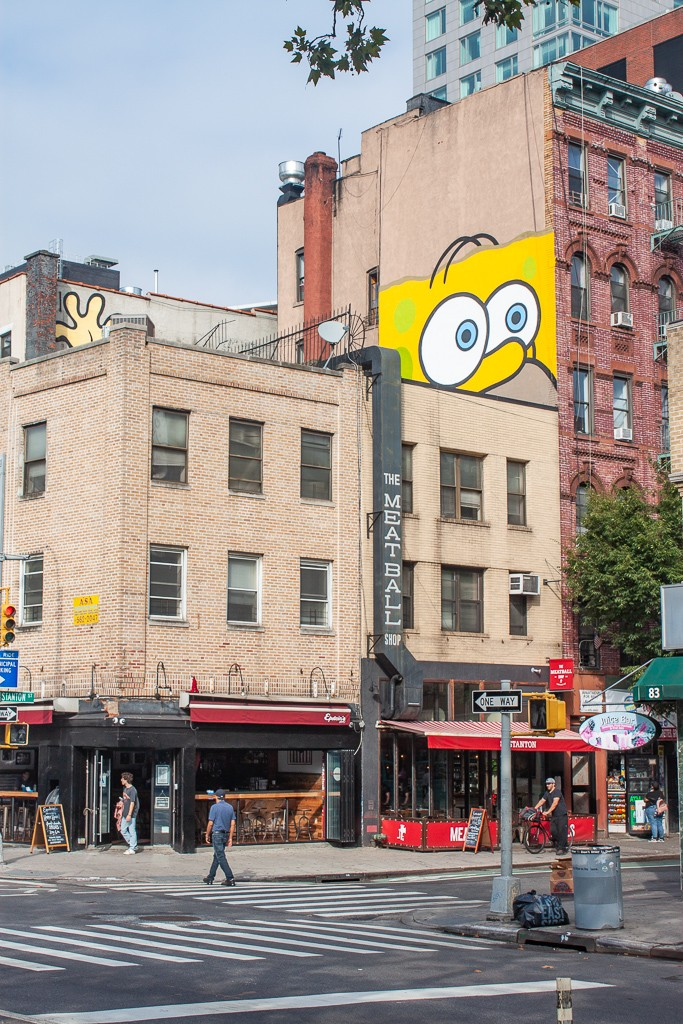 New York City Street Art - JerkFace SpongeBob
