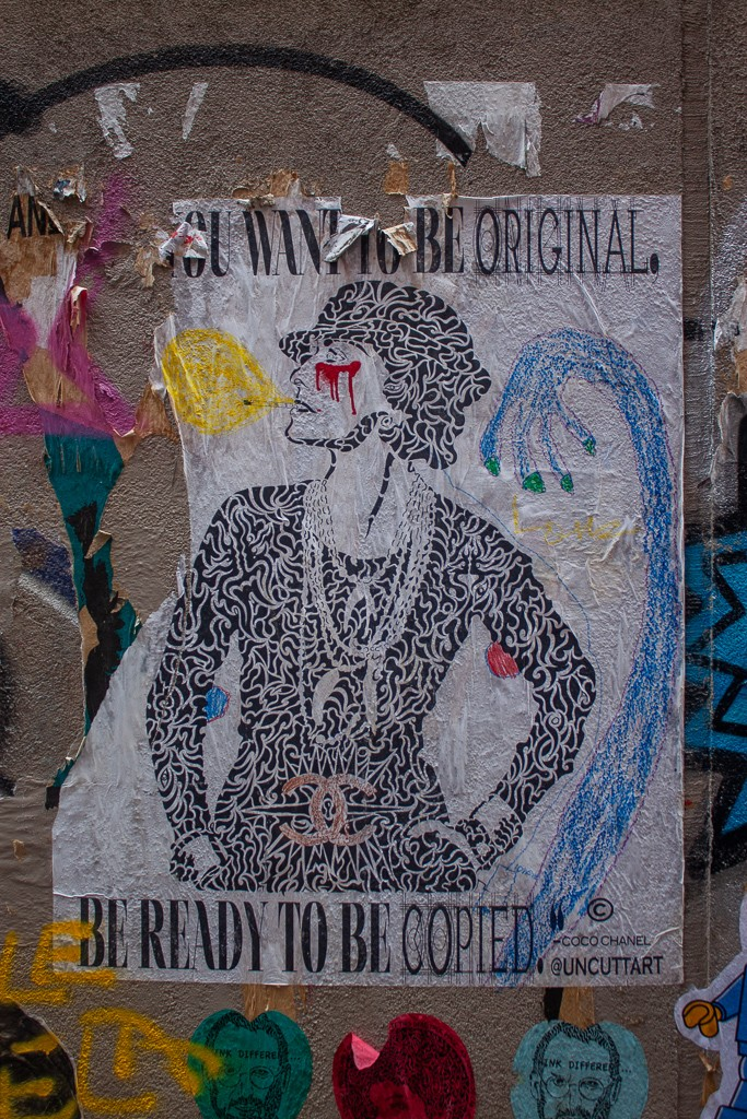 New York City Street Art - You Want To Be Original Be Ready To Be Copied