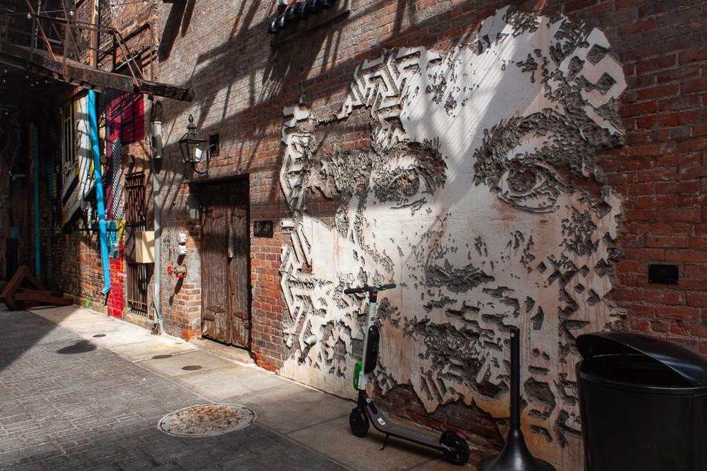 Detroit Art - The Belt Vhils Alexandre Farto