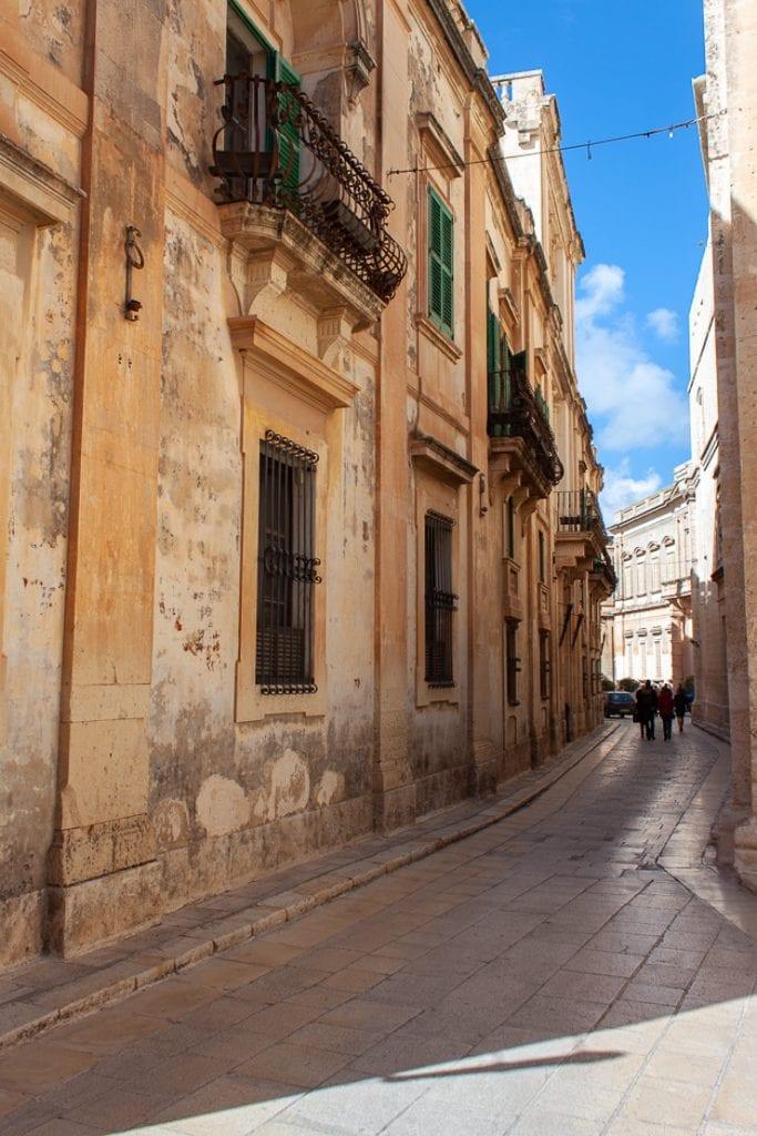 Mdina Malta - Baroque and Medieval Architecture