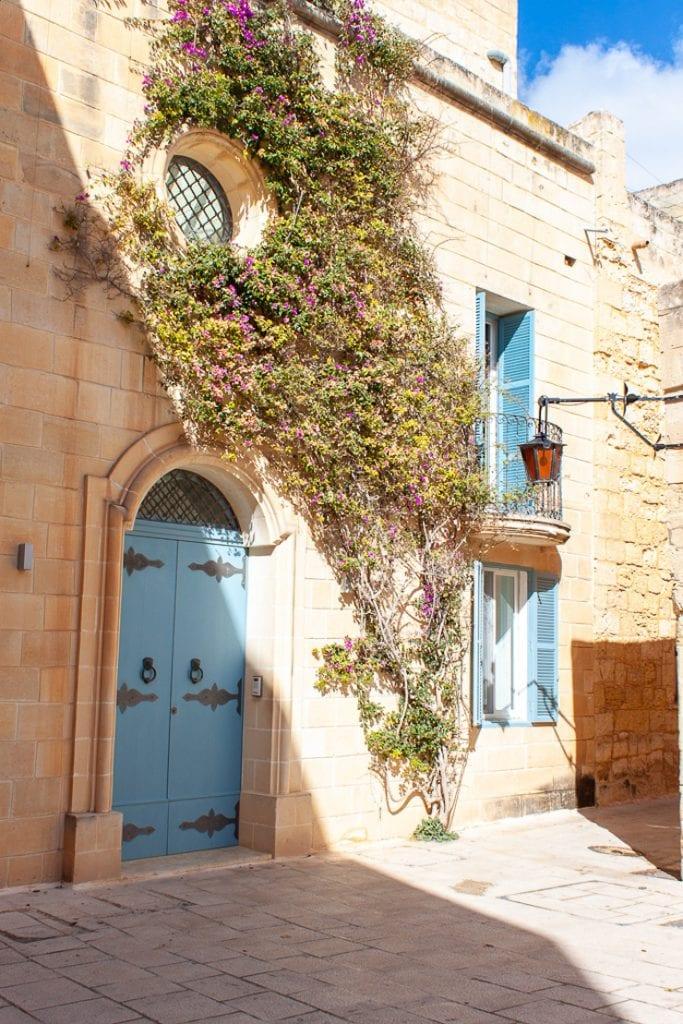 Mdina Malta - Dreamy House Facade