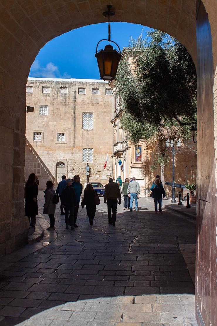 Mdina Malta - Entrance To The Wall City
