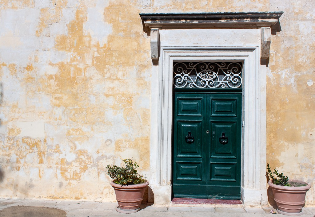 Mdina Malta - Green Door