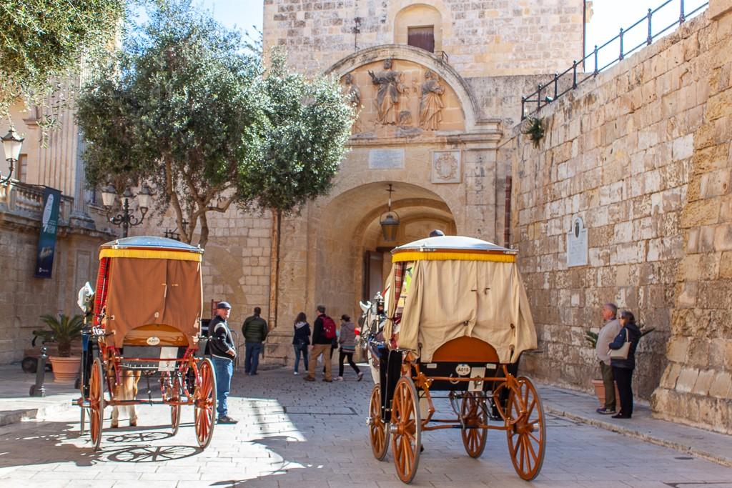 Mdina Malta - Horse and Carriage