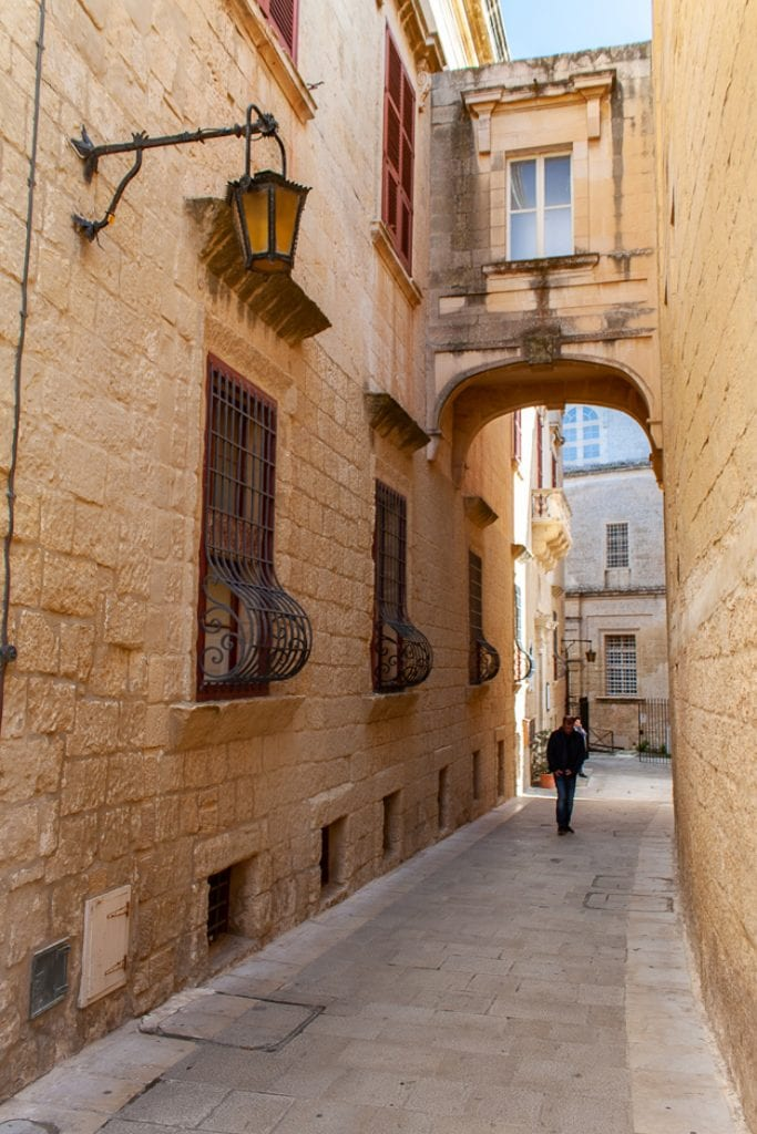 Mdina Malta - Narrow And Quiet Streets