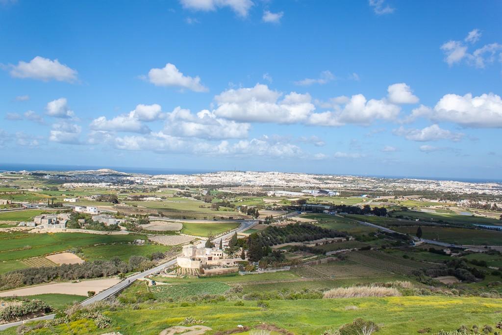 Mdina Malta - Panoramic View