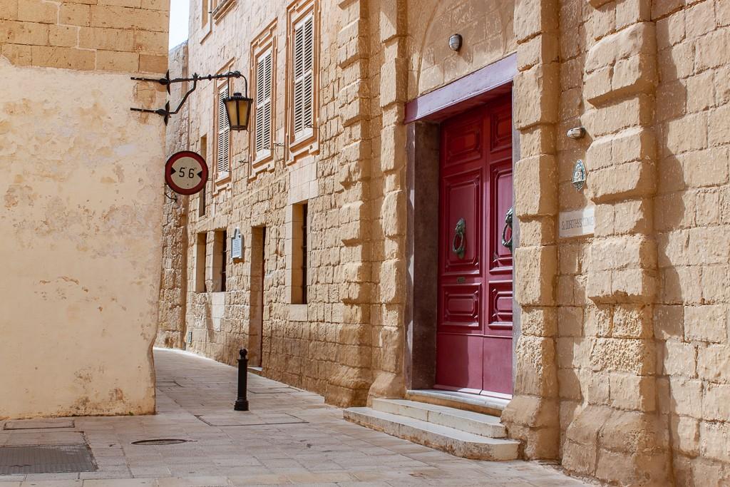 Mdina Malta - Red Door