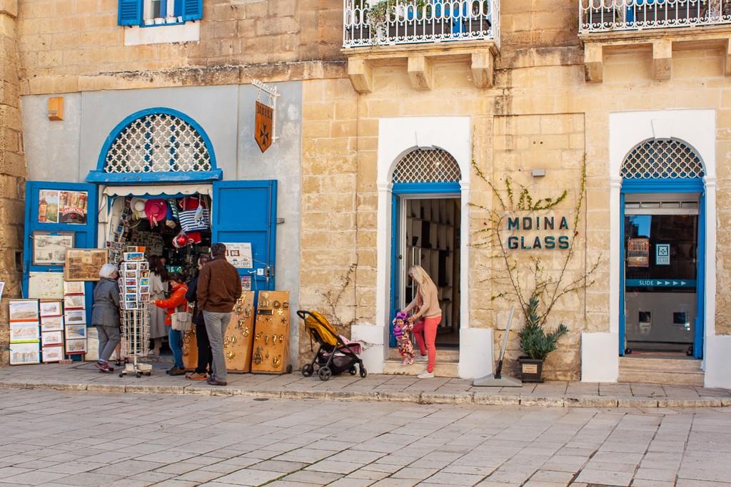 Mdina Malta - Souvenir Shop
