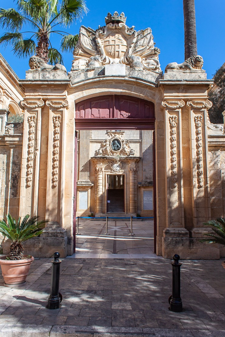 Mdina Malta - Vilhena Palace