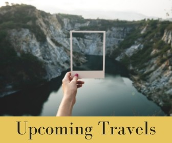 Upcoming Travels - cherylhowardcom
