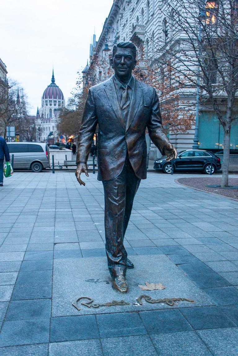 Ronald Reagan Statue - Budapest Liberty Square