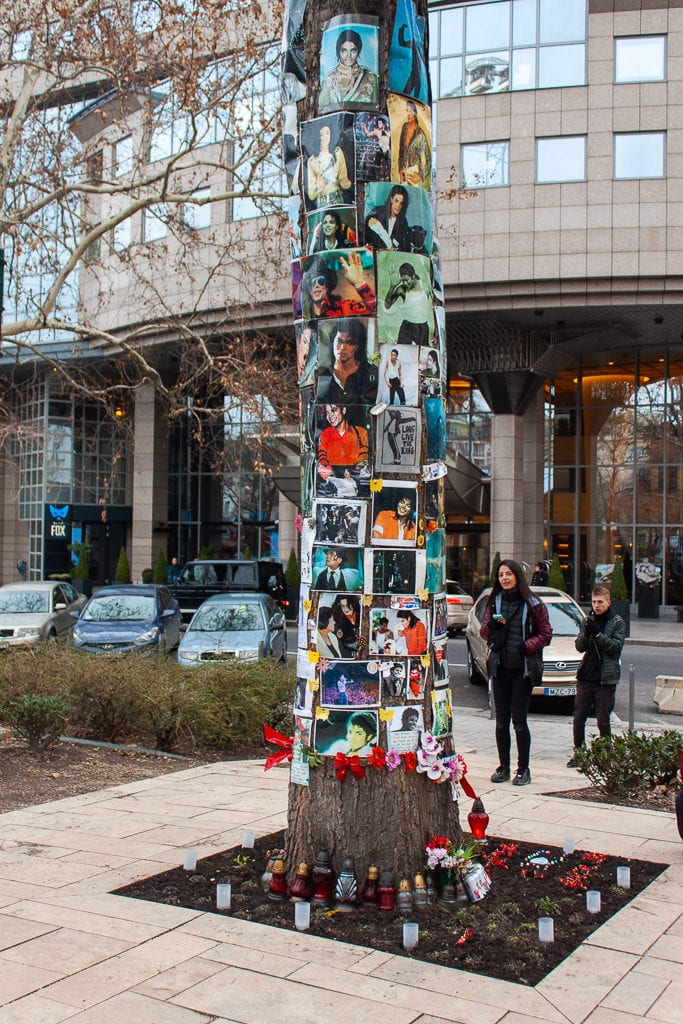 Michael Jackson Memorial Tree Budapest