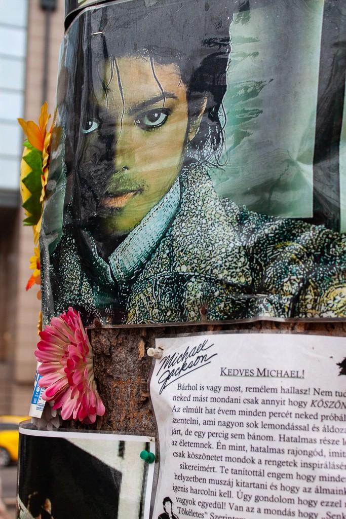 Michael Jackson Memorial Tree Budapest - King of Pop