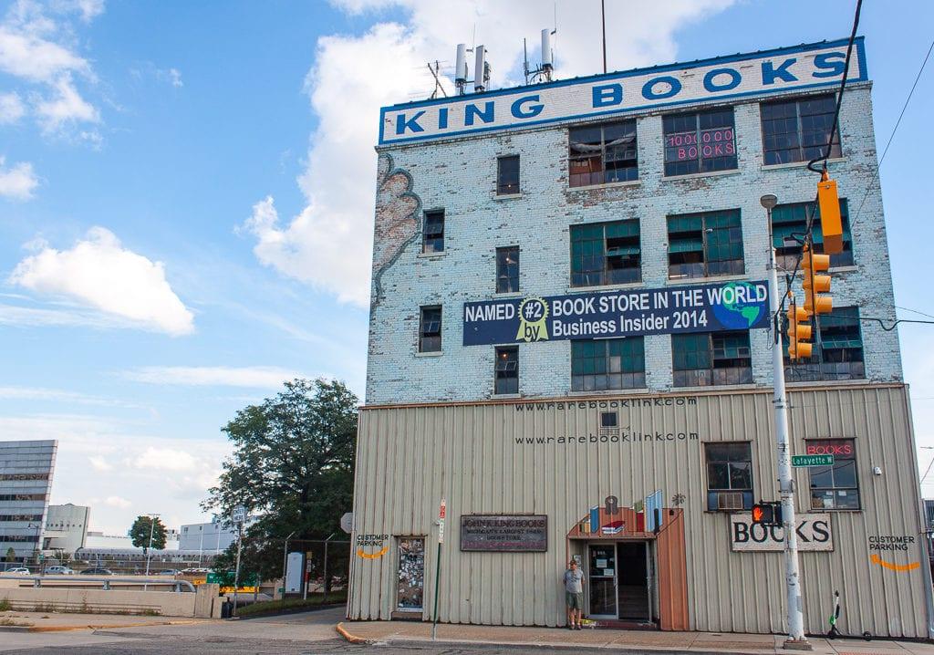 Detroit Bookstores - John K. King Used & Rare Books