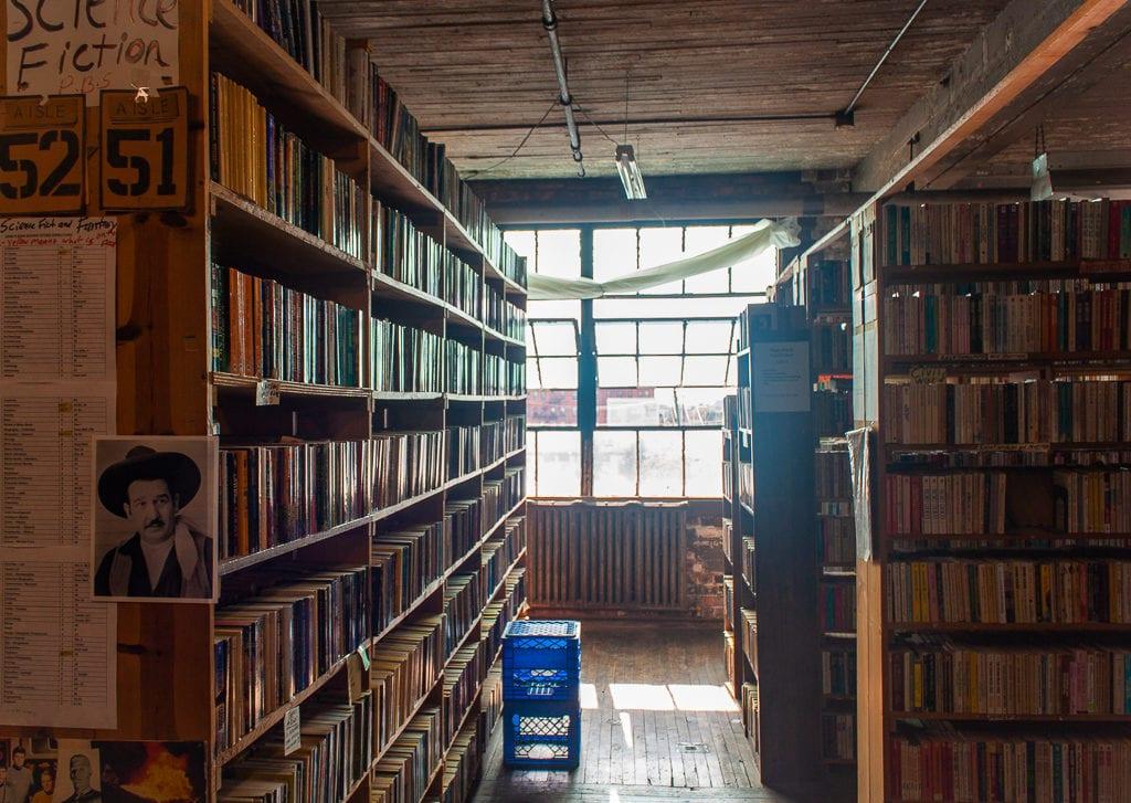 Detroit Bookstores: John K. King Used & Rare Books Bookcases