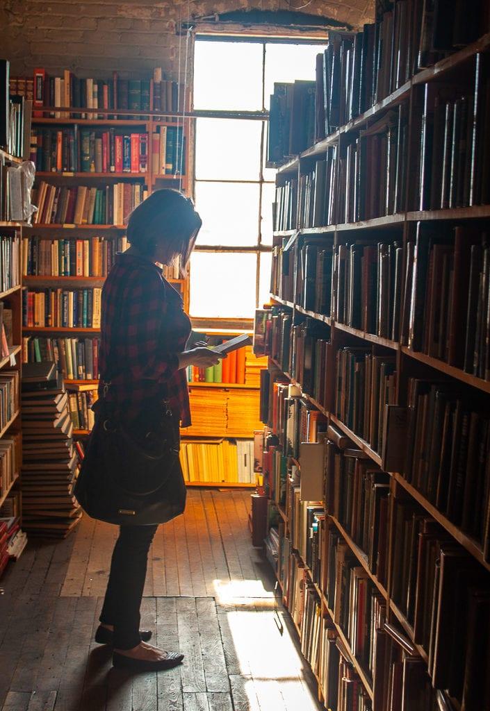 Detroit Bookstores - John K. King Used & Rare Books Cheryl Howard