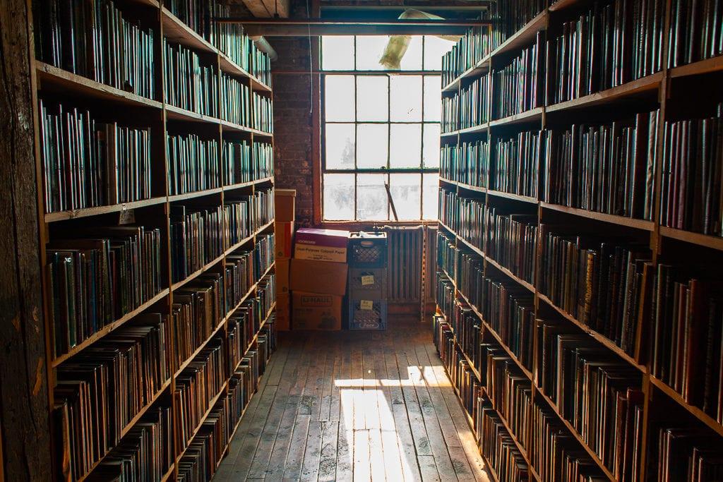 Detroit Bookstores: John K. King Used & Rare Books Golden Light