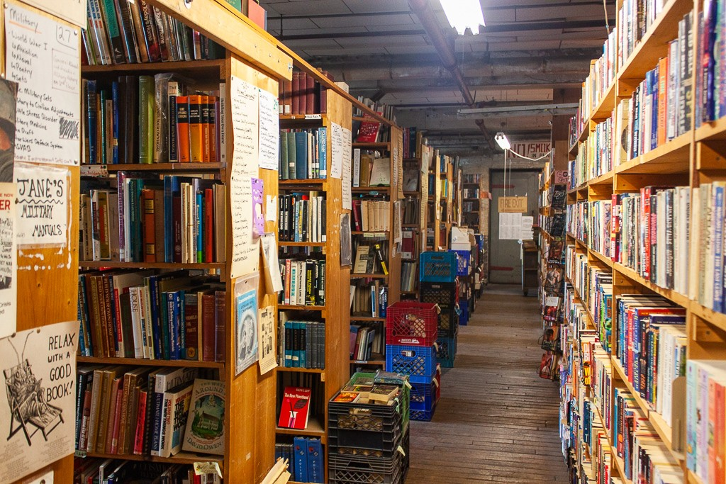Detroit Bookstores: John K. King Used & Rare Books Interior