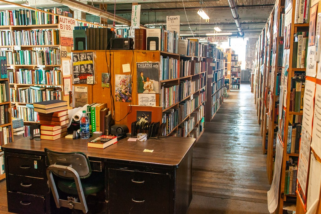 Detroit Bookstores: John K. King Used & Rare Books Stay For Hours