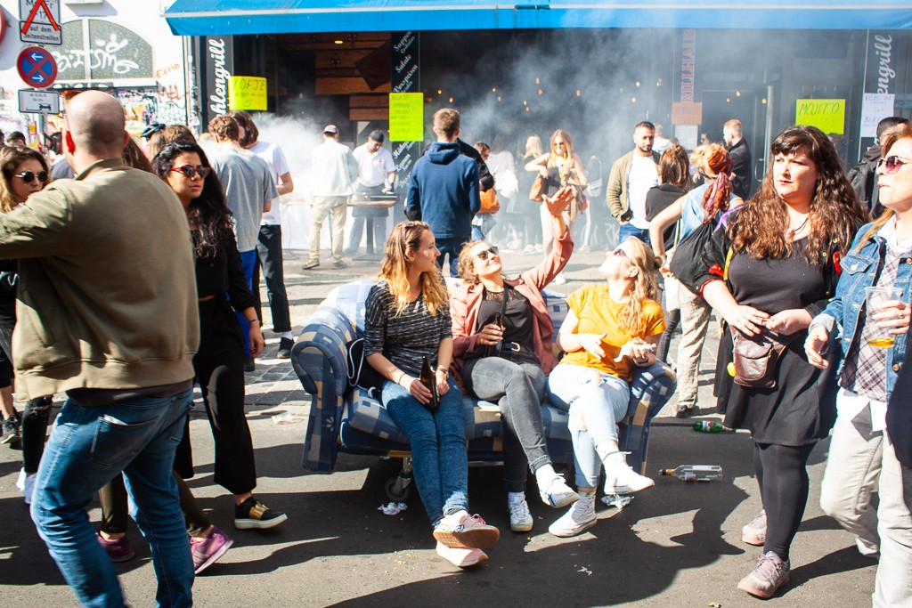 Moving To Berlin Guide - Kreuzberg Myfest Couch Chills