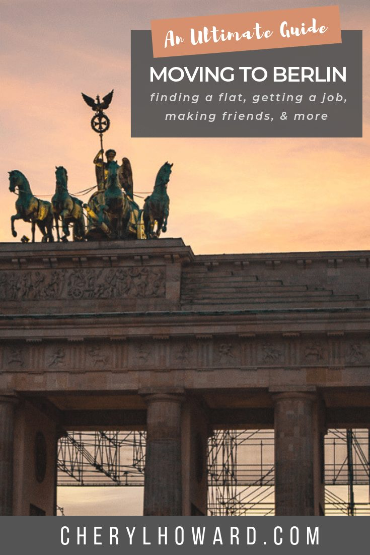 Moving To Berlin Guide - Pin