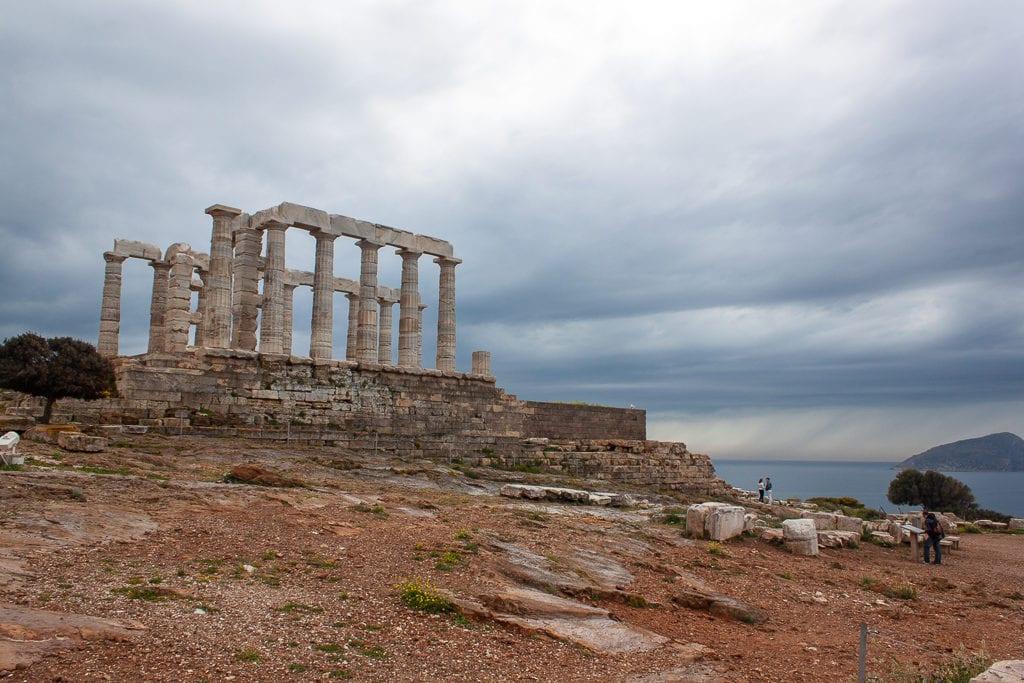 Temple Of Poseidon At Cape Sounion