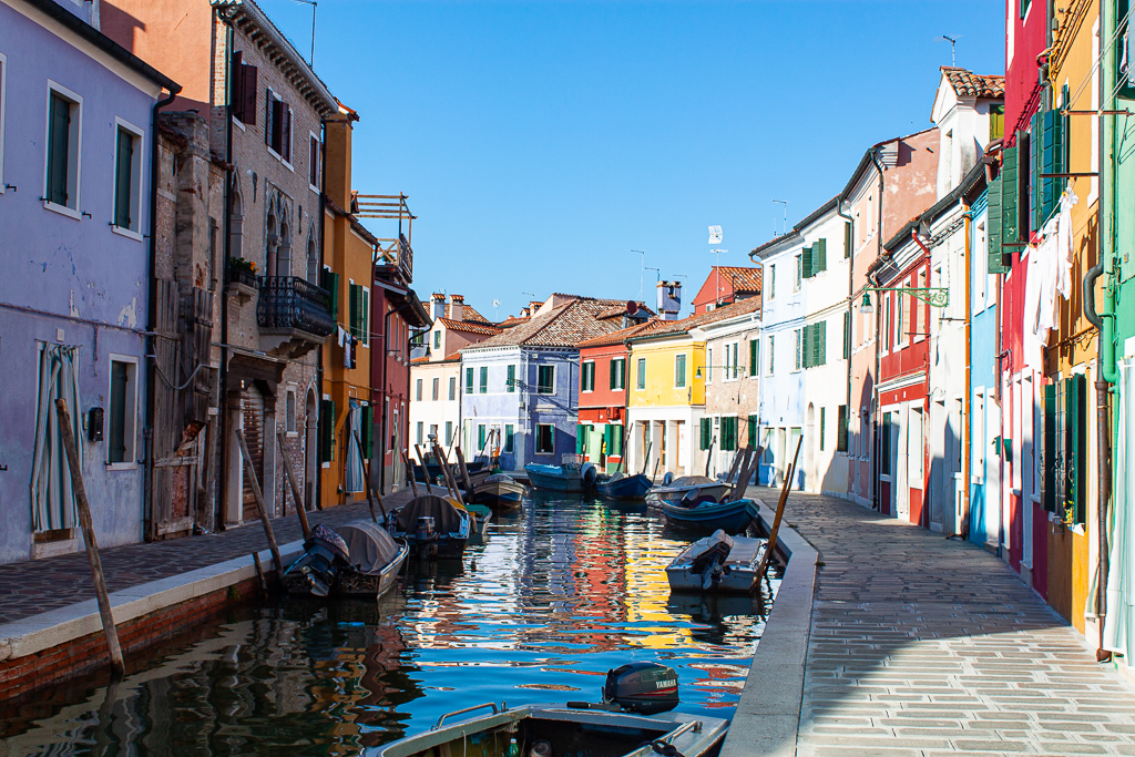 Visit Burano Italy - Canals And Homes
