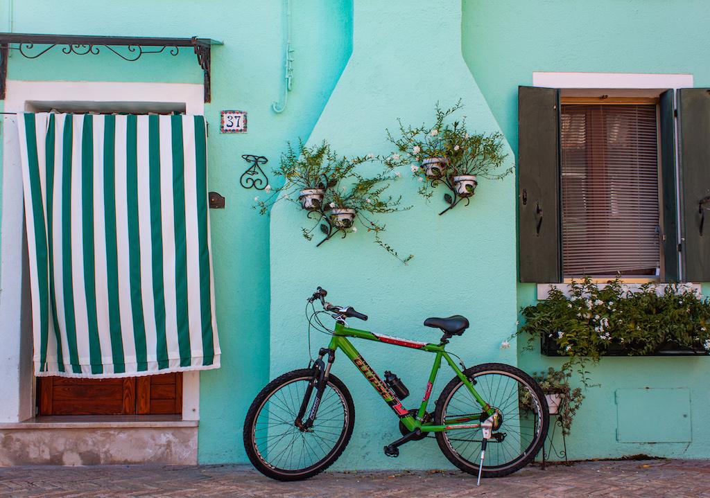 Visit Burano Italy - Cyan Hues