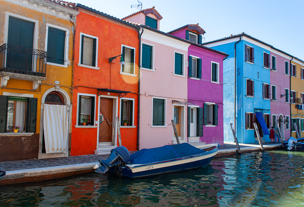 Visit Burano Italy - Lonely Canal
