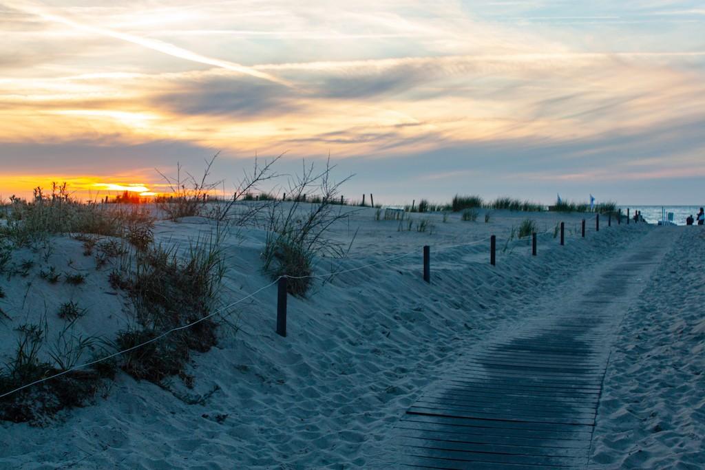 Warnemünde Beach Path