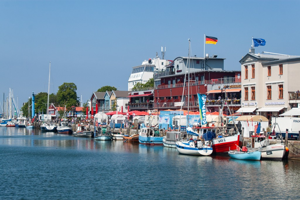 Warnemünde - Canal Views