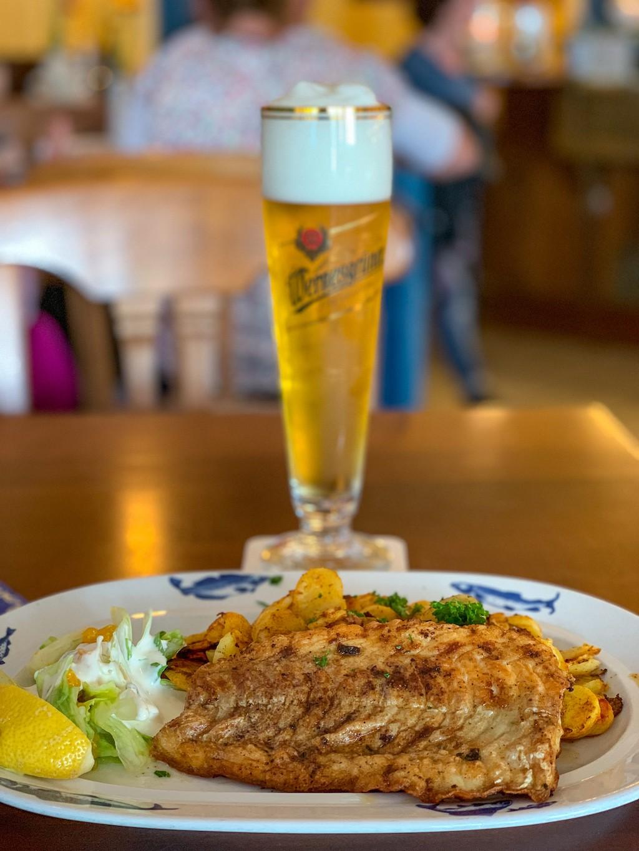 Warnemünde - Fischhus Min Herzing Lunch