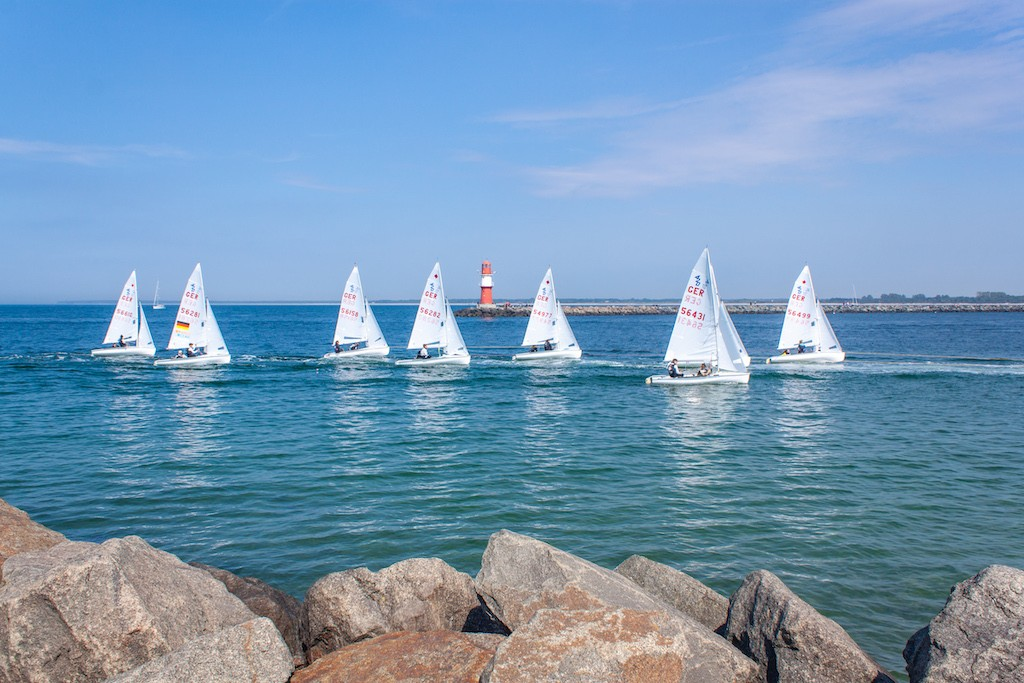 Warnemünde - Sailboats
