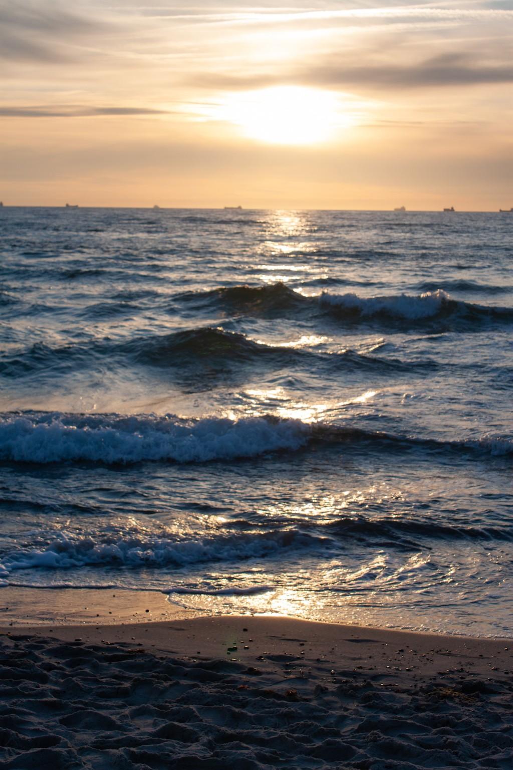 Warnemünde Strand - Sunet