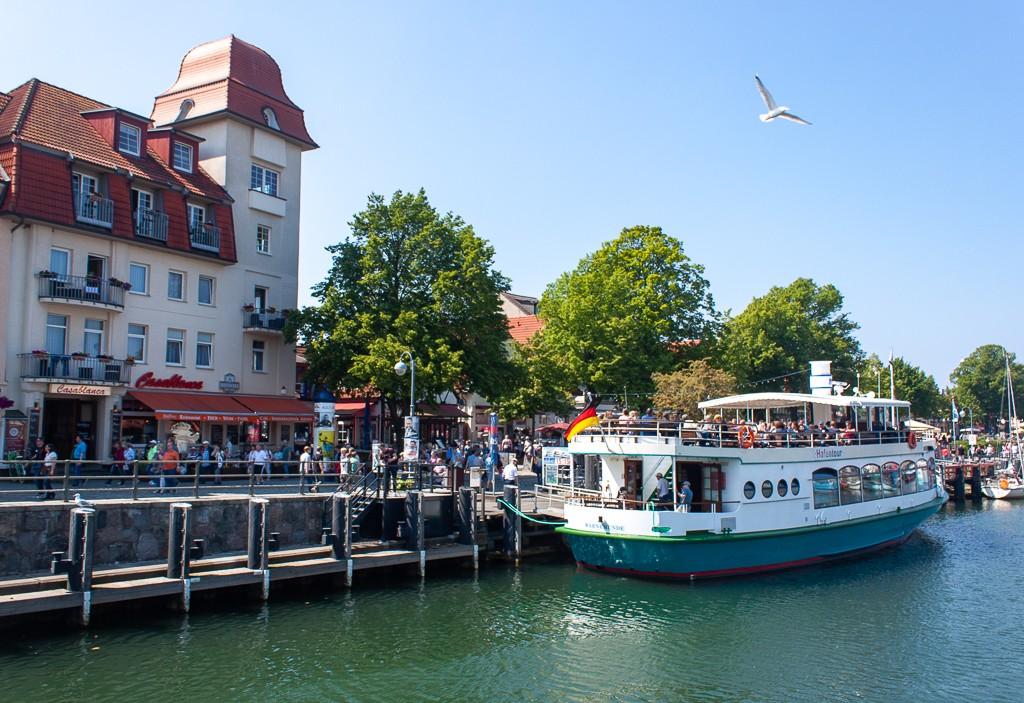 Warnemünde - View From Bridge Canal