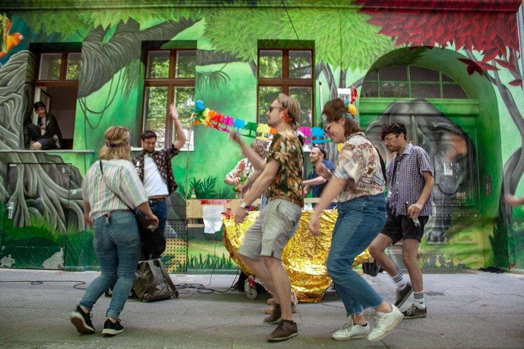 Berlin Tourists - Dancing May 1