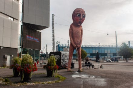 Bad Bad Boy Statue Helsinki