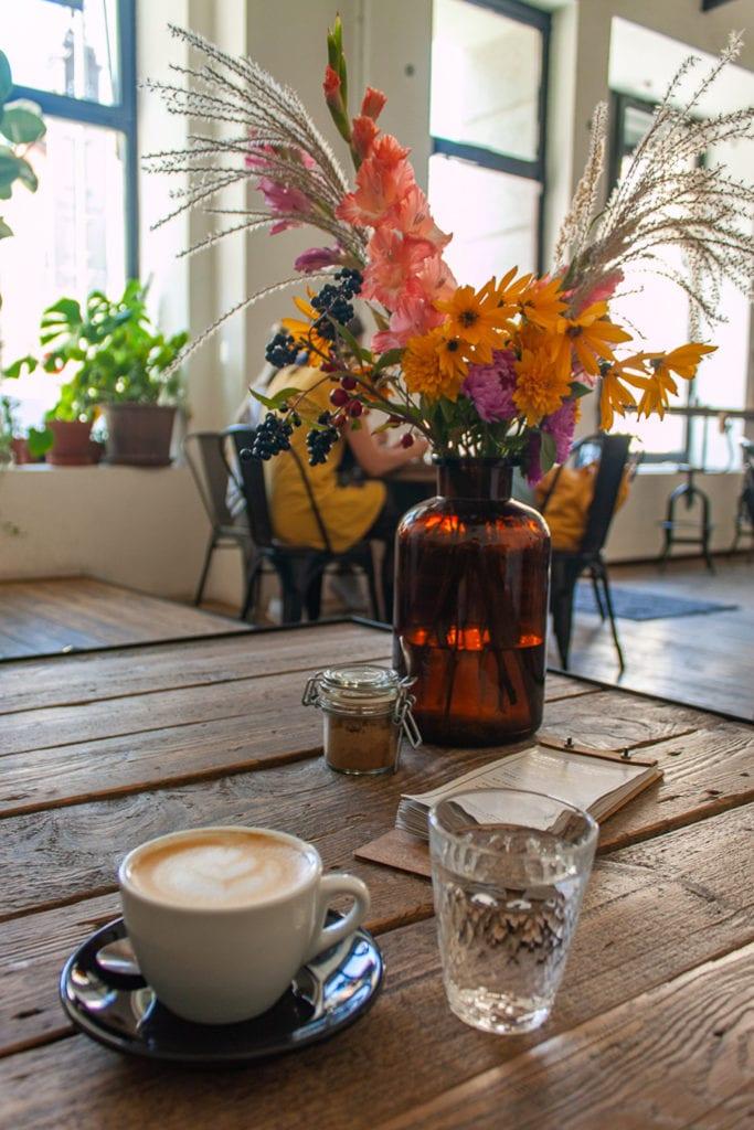 Brno Restaurants - SKØG Urban Hub Coffee